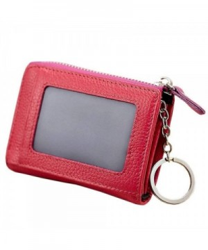 Anshili Unisex Leather Holder RoseRed