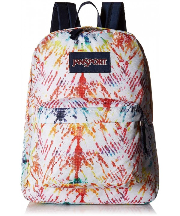 JanSport Unisex SuperBreak Rainbow Tie Dye