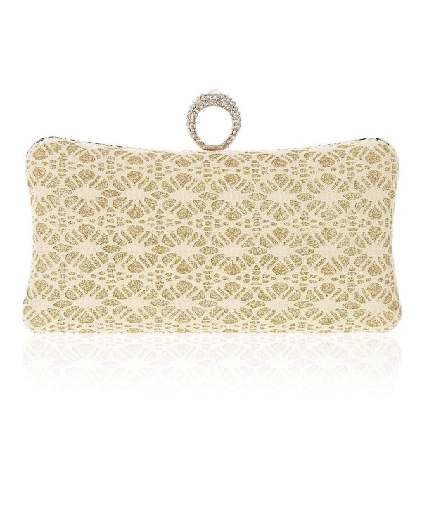 Damara Womens Ring Textura Clutch