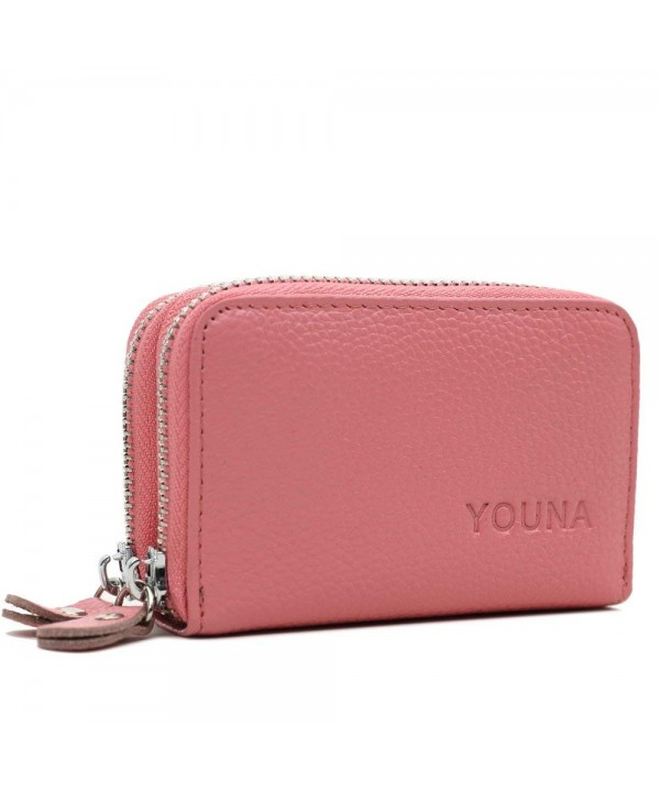 Credit YOUNA Blocking Genuine Leather