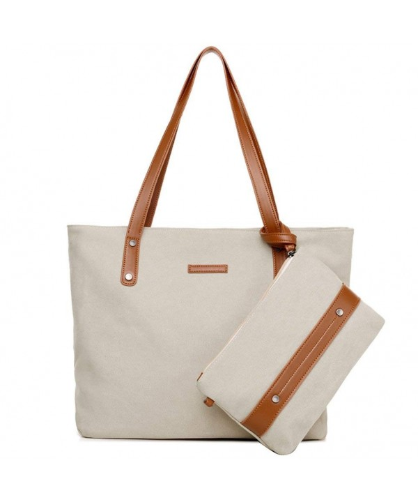 Hiigoo Canvas Handbags Capacity Package