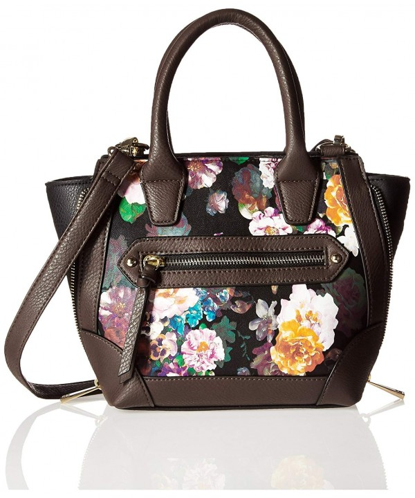 MANO Multi Floral Print Cross
