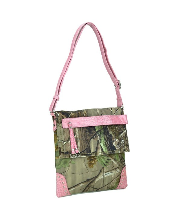 Dasein Realtree Camouflage Messenger Crossbody