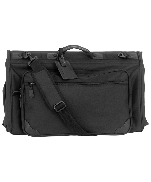 Tri fold Garment Bag Black 45