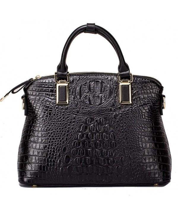 Genuine Leather Handbags Satchels Shoulder