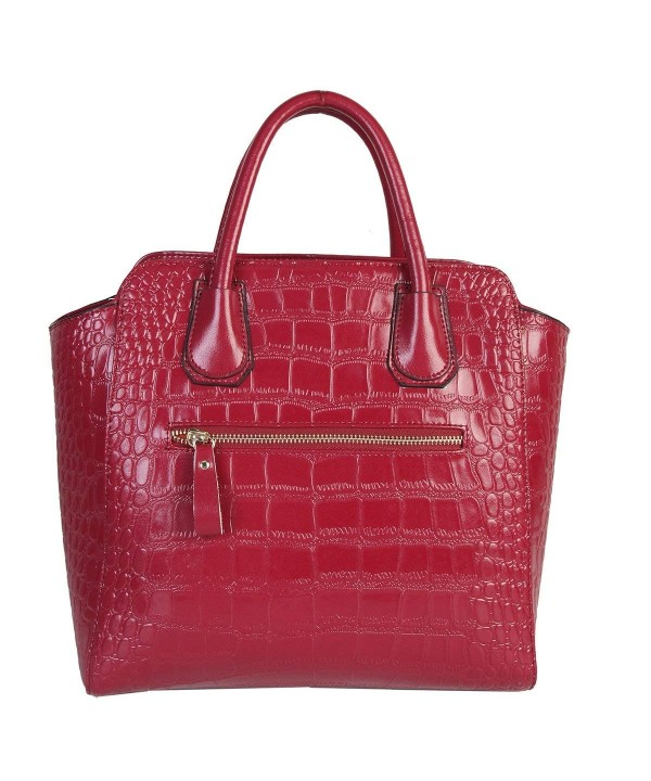 Mllecoco Genuine Leather Textured Structured
