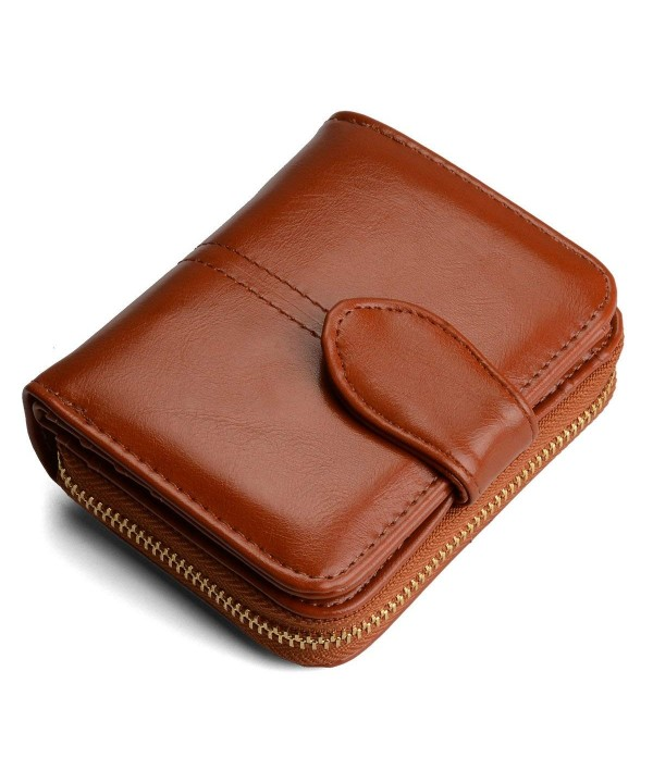 Womens Leather Credit Wallet Holder