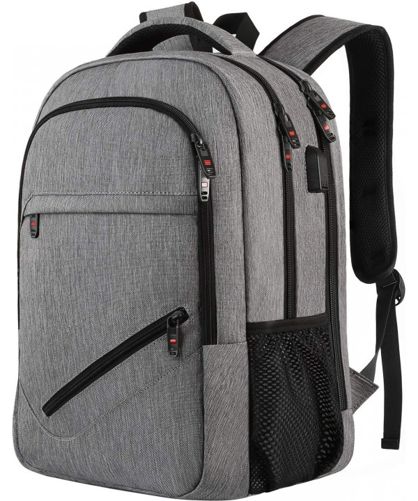Backpack Business Charging Resistant Laptop Grey