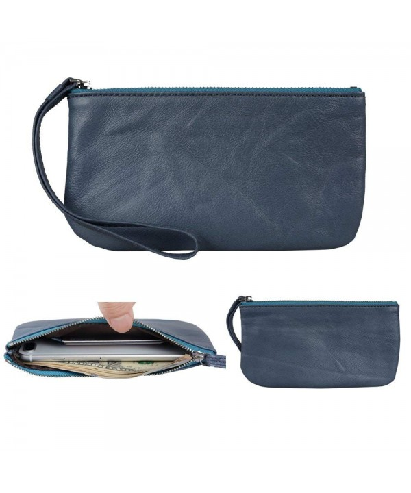 Befen Leather Clutch Smartphone Wristlet