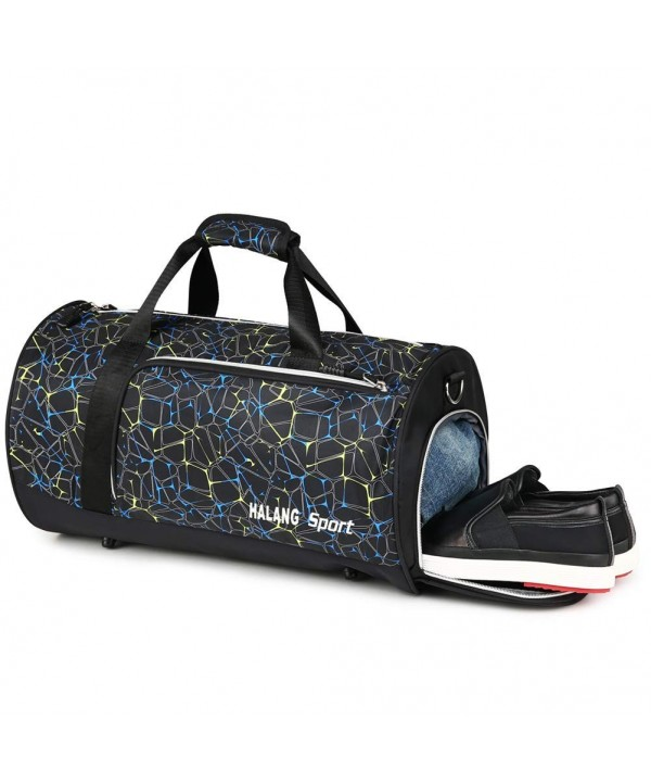 Pocket Shoe Compartment Duffle Sports
