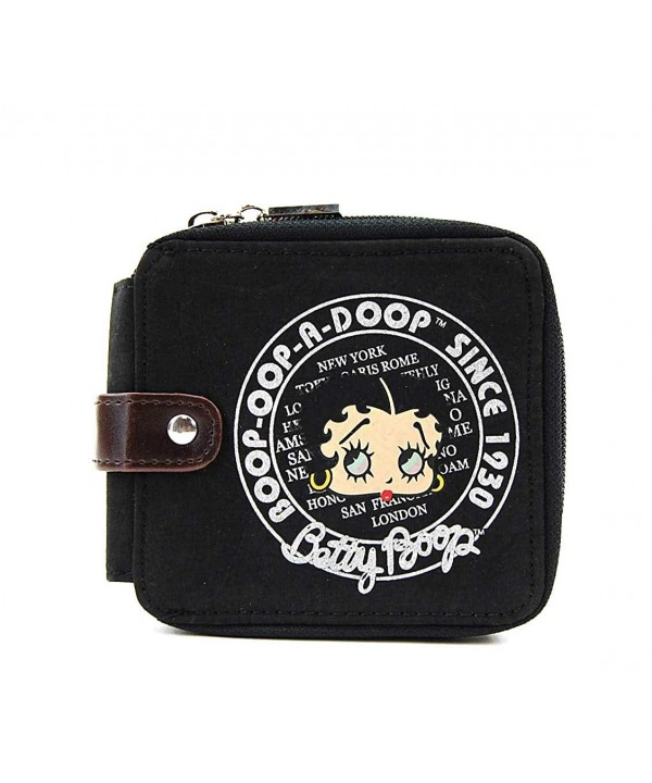 Betty Boop Wallet Around Closure