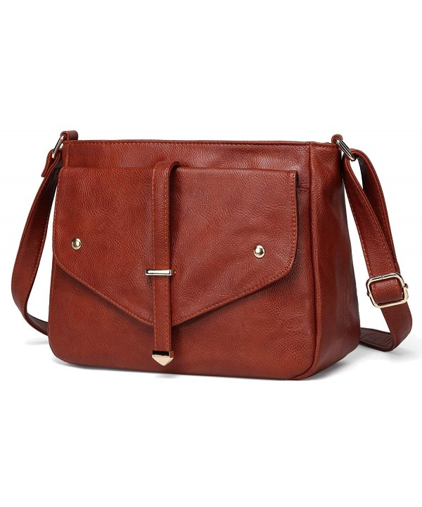 Crossbody VASCHY Leather Fashion Shoulder