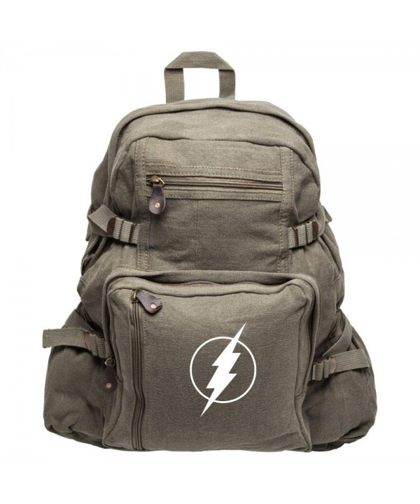 Flash Superhero Heavyweight Canvas Backpack
