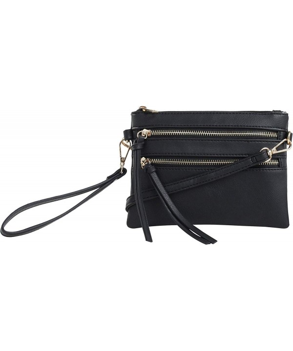 DELUXITY Everyday Multi Pocket Crossbody Removable