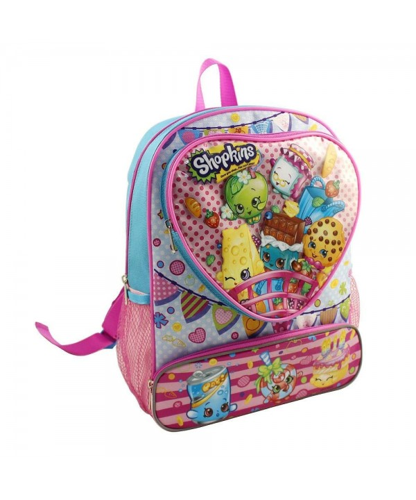 Shopkins Hearts 14 inch Backpack