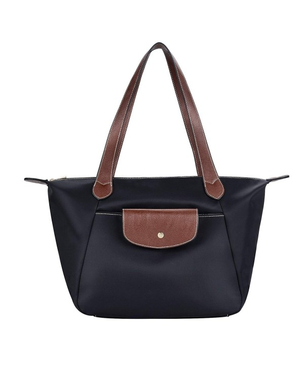 COOFIT Black Shoulder Nylon Handbag