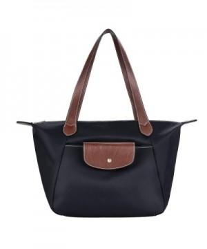 COOFIT Black Shoulder Nylon Handbag