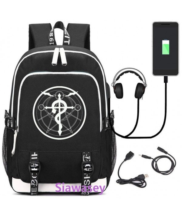 Siawasey Fullmetal Alchemist Luminous Backpack