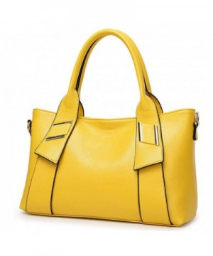 Fashion Synthetic Leather Top Handle Shoudler