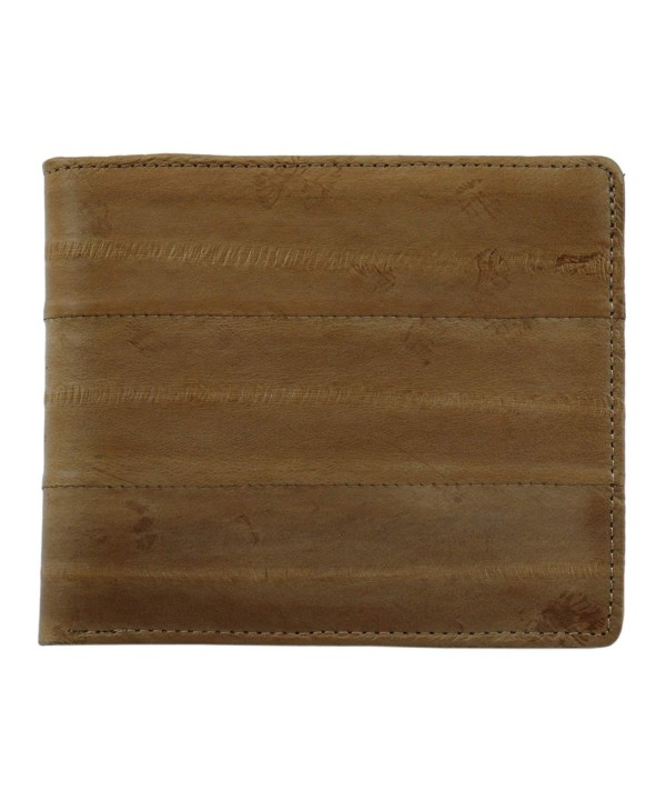 Mens Leather Bifold Credit Wallet