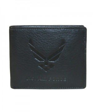CTM Leather Embossed Bilfold Wallet