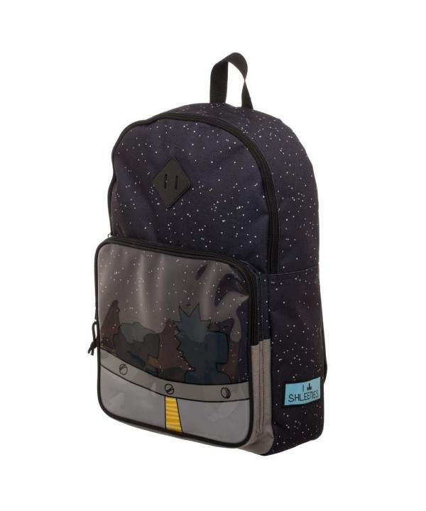 Rick Morty Spaceship Backpack