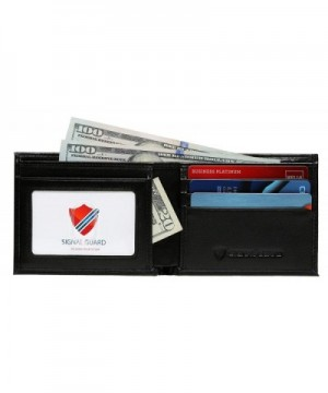 Slim RFID Wallet Men Protector