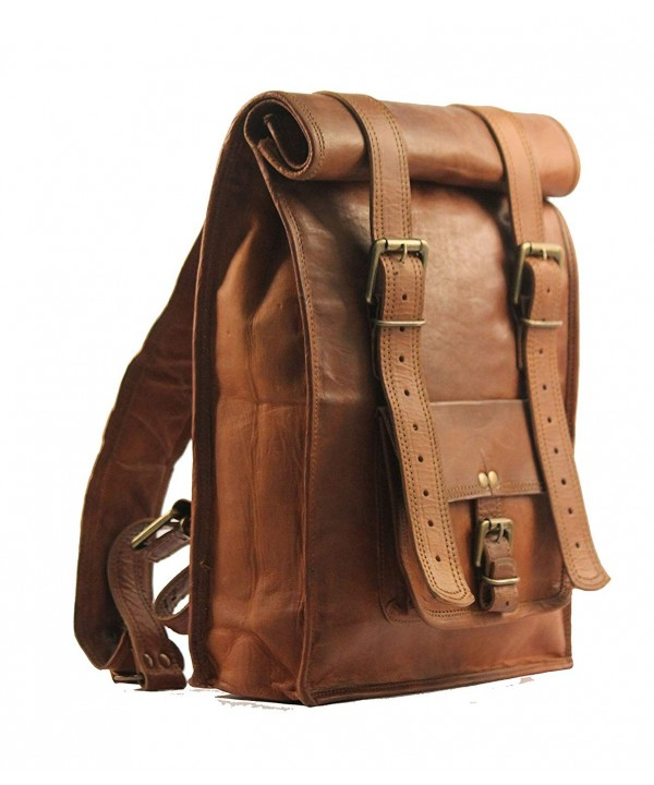 Handmade_World Vintage Backpack Messenger Rucksack