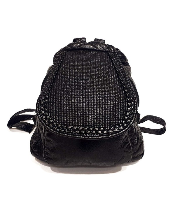 Sac Fashion Backpack Women Black
