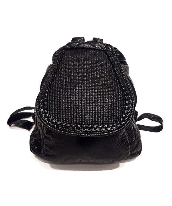Sac Fashion Backpack Women Black