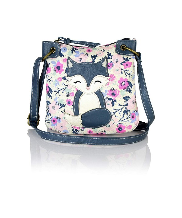 Floral Purse Leather Critter Crossbody