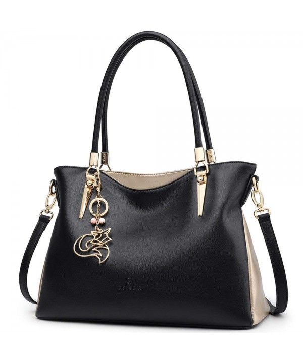 FOXER Handbag Leather Shoulder Handle