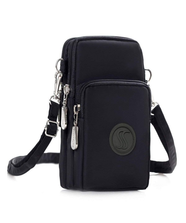 Saking Multifunction Zipper Waterproof Crossbody