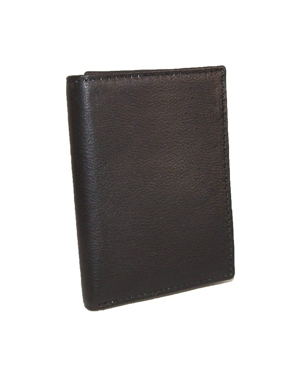 CTM Leather Protected Trifold Wallet