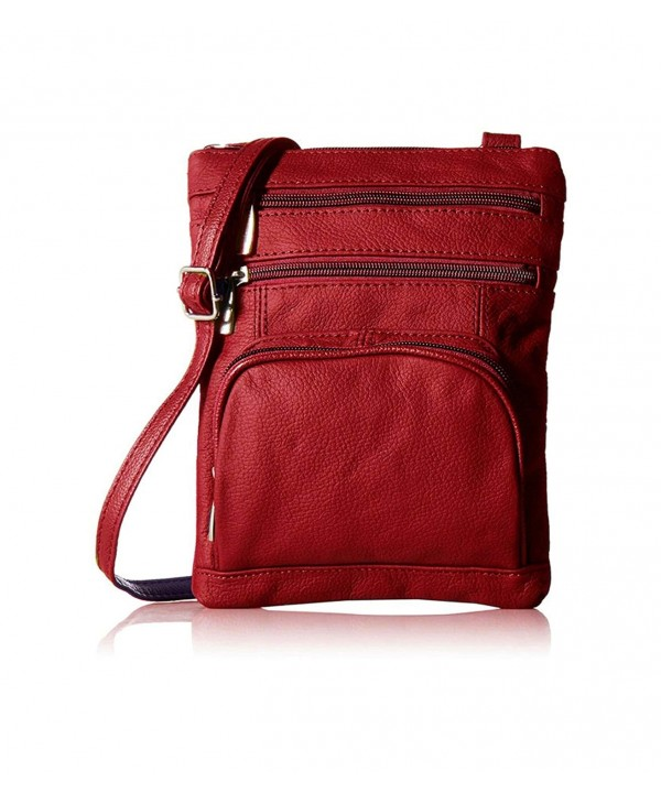 AFONiE Genuine Fashion Leather Cross body