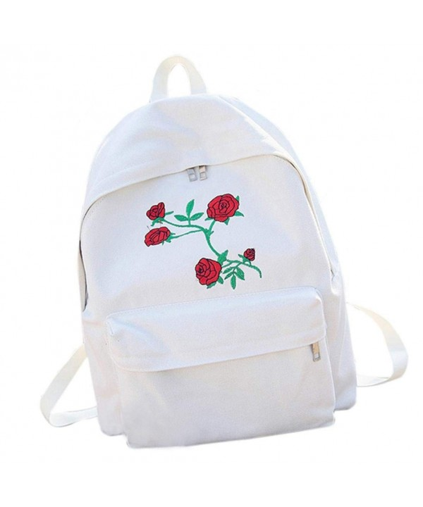 Hemlock Travel Backpacks Embroidery School