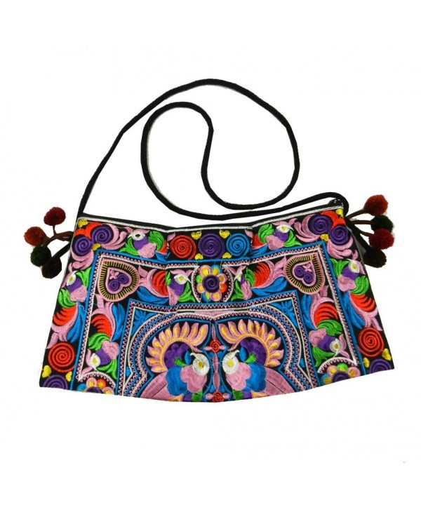 Swingpack Embroidered Crossbody Shoulder Multicolor