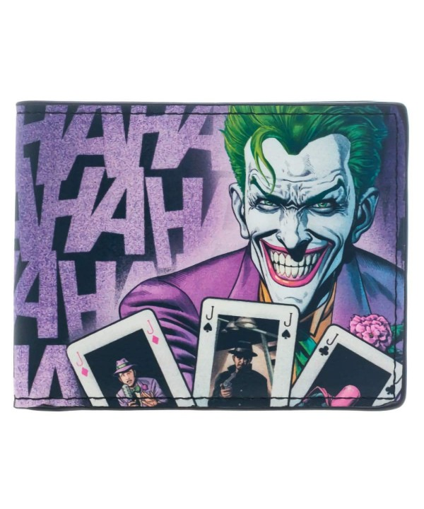 DC Comics Joker Bi Fold Wallet