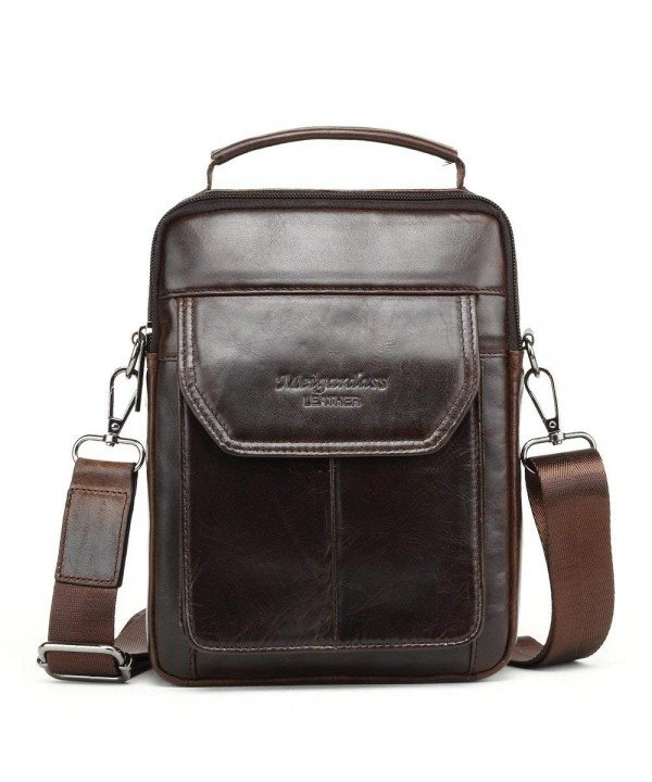 Meigardass Shoulder Messenger CrossBody Briefcase