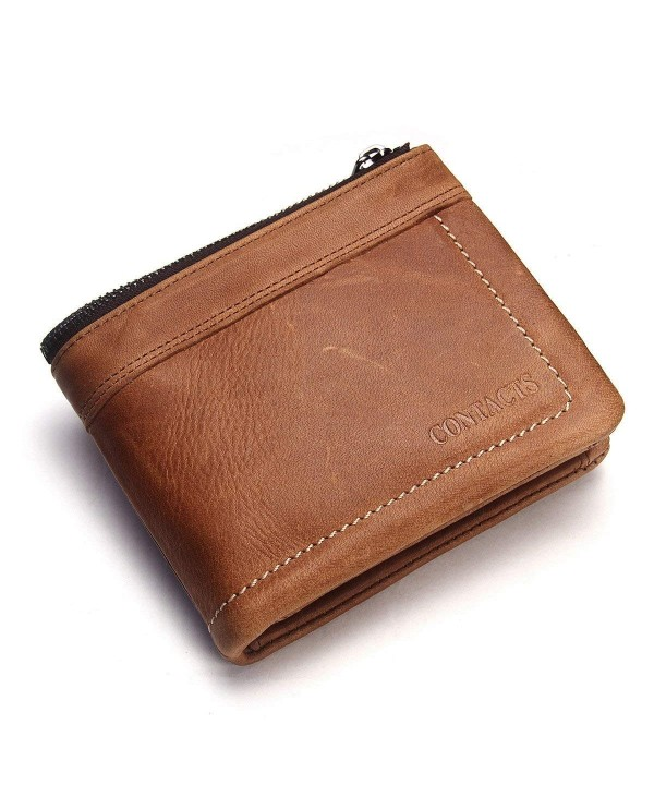 Contacts Genuine Leather Vintage Holder