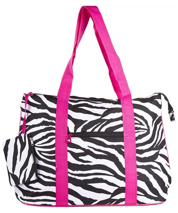 Zebra Print Extra Large Purse