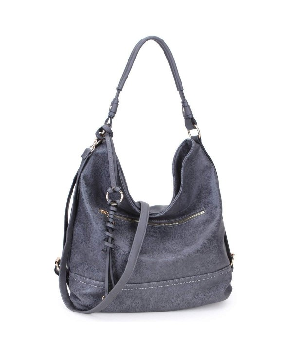 c196107ddefa Women Casual Hobo Shoulder Bag Soft Washed Vintage Handbags Designer ...