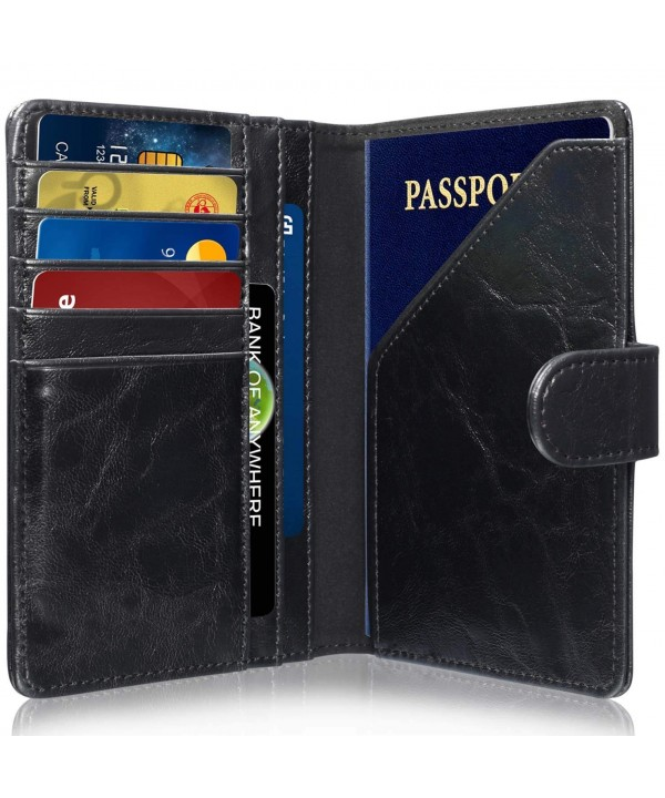 Blocking Passport GreatShield Leather Compartments