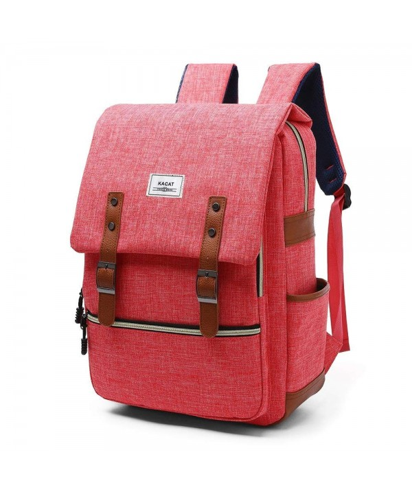 Vintage Laptop Backpack Canvas Sleeve