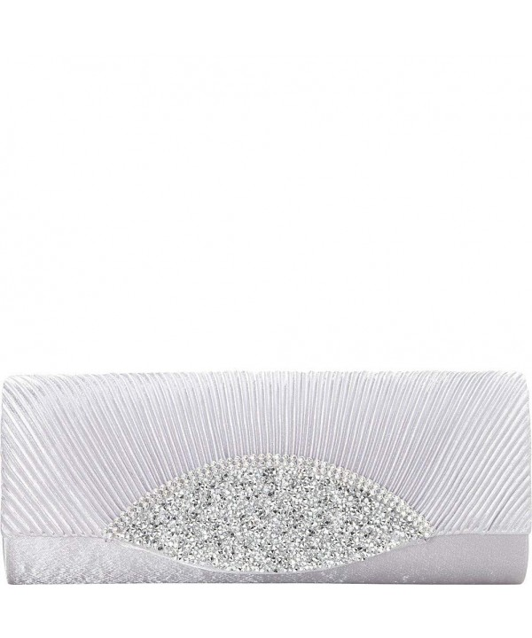 J Furmani Amy Clutch Silver