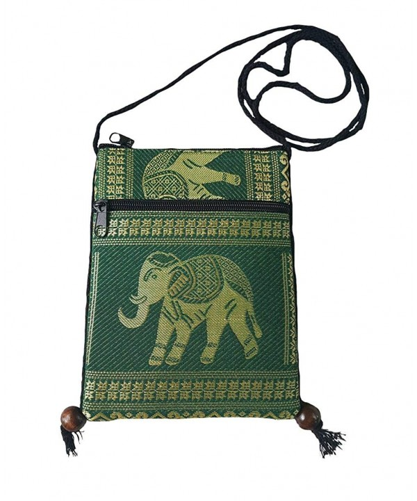 Elephant Crossbody Shoulder Cellphone Passport