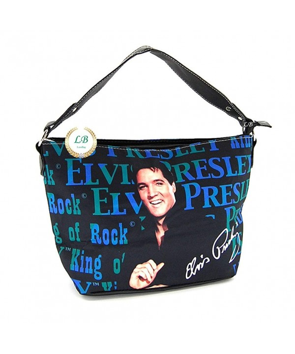 Elvis Presley EB92 Shoulder Smiling