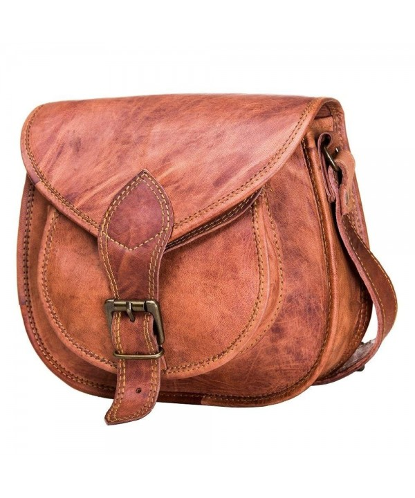 Handbags Crossbody Satchel Leather Natural