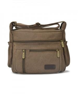 2b9a324caf66 Vintage Canvas Messenger Bag Handbag Crossbody Shoulder Bag Leisure ...