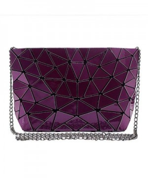 Mily Holographic Leather Envelope Handbag